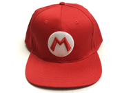 Mario M Logo Red Baseball Cap 9SIA8DR5R95062
