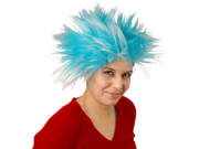 Thing 1 Thing 2 Blue Wig Cat In The Hat Dr. Seuss 3 Hair Costume Book Movie