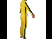 The Bride Costume Yellow Suit Kill Spandex Game Death Beatrix Kiddo Black Mamba - Adult XL 9SIA8DR7VH9603