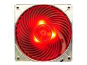 SILVERSTONE Air Penetrator AP121-L AP121-RL 120mm Red LED 3 Pin Fluid Dynamic Bearing Case Fan CPU Cooler