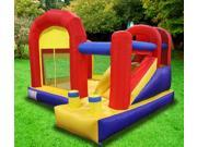 New Super Slide Inflatable Castle Bounce House Moonwalk Jump with Blowing Fan 9SIA8G856X9867