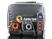 AETERTEK MODEL AT-919C 1100 YARD REMOTE ELECTRIC TWO DOG TRAINING SHOCK COLLAR SYSTEM with AUTO ANTI-BARK FEATURE 9SIA8J53NW6953