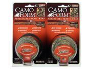 2-PACK Camo Form Mossy Oak Obsession Camouflage Gear Wrap Protective Cling Tape thumbnail