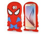 3D Cute Cartoon Spider Man Design Silicone Soft Case Cover For Samsung Galaxy S6 G920 9SIA8JG3DR8120