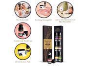 Home Fragrance Aromatherapy Oil for Diffusers - 6 Oil bottles 15 ML Each, Plum - Pomegranate - Lemon - Peach - Orange - Pomelo