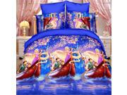 3D Active Printing Winter Queen King Size Bed Quilt Duvet Sheet Cover 10PC Set Upscale Cotton 9SIA8K73C47602