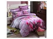 Cotton Active floral printing Quilt Duvet Sheet Cover Sets 4PC Set 9SIA8K73C48571