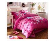 Cotton Active floral printing Quilt Duvet Sheet Cover Sets 4PC Set 9SIA8K73C48583