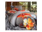 Cotton Active floral printing Quilt Duvet Sheet Cover Sets 4PC Set 9SIA8K73C48595