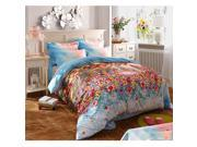 Cotton Active floral printing Quilt Duvet Sheet Cover Sets 4PC Set 9SIA8K73C48635