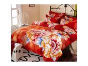 Cotton Active floral printing Quilt Duvet Sheet Cover Sets 4PC Set 9SIA8K73C48675
