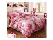 Cotton Active floral printing Quilt Duvet Sheet Cover Sets 4PC Set 9SIA8K73C48646