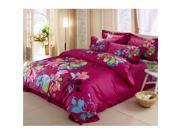 Cotton Active floral printing Quilt Duvet Sheet Cover Sets 4PC Set 9SIA8K73C48606