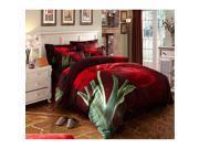 Cotton Active floral printing Quilt Duvet Sheet Cover Sets 4PC Set 9SIA8K73C48561