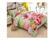 Cotton Active floral printing Quilt Duvet Sheet Cover Sets 4PC Set 9SIA8K73C48618