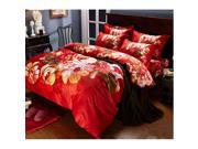 Cotton Active floral printing Quilt Duvet Sheet Cover Sets 4PC Set 9SIA8K73C48688