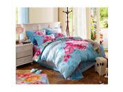 Cotton Active floral printing Quilt Duvet Sheet Cover Sets 4PC Set 9SIA8K73C48564