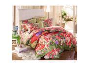 Cotton Active floral printing Quilt Duvet Sheet Cover Sets 4PC Set 9SIA8K73C48692