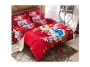 Cotton Active floral printing Quilt Duvet Sheet Cover Sets 4PC Set 9SIA8K73C48642
