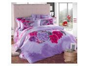 Cotton Active floral printing Quilt Duvet Sheet Cover Sets 4PC Set 9SIA8K73C48617