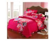 Cotton Active floral printing Quilt Duvet Sheet Cover Sets 4PC Set 9SIA8K73C48588
