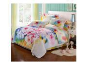 Cotton Active floral printing Quilt Duvet Sheet Cover Sets 4PC Set 9SIA8K73C48641