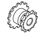 71193821 New Fan Shaft Sprocket Made to fit Gleaner Combine Models L2 L3 M2 M3 + 9SIA8MC3N31719