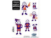 Clemson Tigers Family Decal Set Small 9SIA8MJ6Z31511