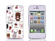 Moonmini Cute Lovely Cartoon Doll Pattern Hard PC Snap-On Back Case Cover Shell for iPhone 4 4S 9SIA8MN34E7717