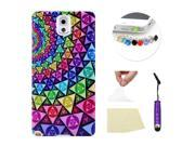 Moonmini for Samsung Galaxy Note 3 N9000 Ultra-thin Soft TPU Phone Back Case Cover Skin Protective Shell (Tribal Pattern)