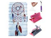 Moonmini Case for LG G3 PU Leather Case Flip Cover with Stand Function and Magnetic Closure (Dream Catcher) 9SIA8MN3FH0384