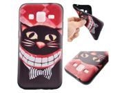 Moonmini Case for Samsung Galaxy Core Prime G360 Ultra Slim Fit Soft TPU Phone Back Case Cover Protector (Cat) 9SIA8MN4BR6192