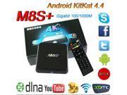 M8S+ 2GB/8GB M8S Plus TV Box Amlogic S812 Quad Core Android 4.4 2.4G&5G Wifi