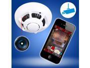 P2P Smoke Detector WiFi HD SPY Hidden Camera Wireless IP Camera Nanny Video Recorder 9SIA8MU3YM3870