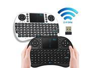i8 2.4GHz Wireless Fly Air Mouse Gaming Keyboard Touchpad for Andriod Google TV (Black) 9SIA8MU63X0255