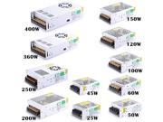 400 Watt LED Power Supply AC 220 Volt - 240 Volt To DC 12 Volt Switcher Transformer AC 220V - 240V To DC 12 Volts