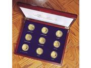 Tribute to Americas Most Beautiful Gold Coins Set of 9