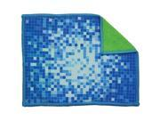 "SHIELDME 5000 5.5"" x 7.5"" Dual-Sided Microfiber Cloth"