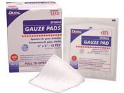 Dukal Gauze Pad 3 x3 12 Ply Sterile 1 pk 3600pk cs pack Of 3600