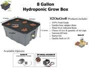 8-Gallon H2OtoGro® Self-watering Hydroponic Deep Water Culture Grow System ~ Grow herbs, flowers, fruits and vegetables all year round!