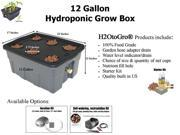 12-Gallon H2OtoGro® Self-watering Hydroponic Deep Water Culture Grow System ~ Grow herbs, flowers, fruits and vegetables all year round!