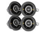 "Kicker CS speaker package - Two pairs of Kicker CS Series 3.5"" Coaxial speakers 40CS354"