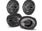 Kicker for Dodge Ram Truck 1994-2011 speaker bundle - KS 6x9