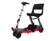 LUGGIE CLASSIC FOLDABLE LIGHTWEIGHT POWER MOBILITY SCOOTER RED