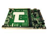 """MF-178 (H/W RAID 2x mSATA SSD to 2.5"""" 7mm SATA III SSD)"""