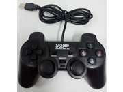 Wired USB Vibration Shock Gamepad Game Controller Joystick Joypad Black 9SIA8S34656743
