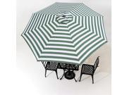 9' 8 Ribs Patio Umbrella Replacement Canopy Top Cover Market Outdoor Beach Yard 9SIA8SK3U72376