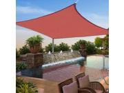 12'x12' Square Sun Shade Sail Top Outdoor Yard Patio Canopy Cover UV Blocking