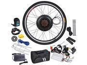"36V 800W 26"" Rear Wheel Electric Bicycle Motor Engine Kit PAS Cycling Hub Conversion Kit"