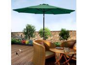 9' ft Patio Umbrella Aluminum Crank Tilt Market Outdoor Yard Beach Bar Garden 9SIA8SK3BW0613